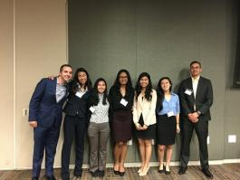 Fall 2017 Officers at Chapter Meeting